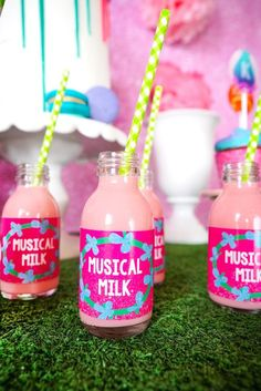 Musical Milk labels