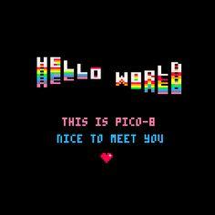 Pico 8 - Fantasy Console/Game Making Program