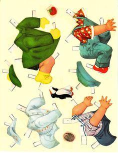 Paper Dolls~Peek-A-Boo Babies - Bonnie Jones - Picasa Web Albums
