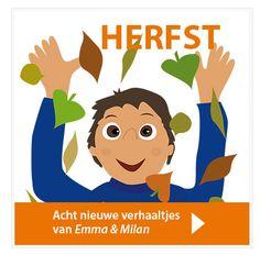 Download 8 nieuwe verhaaltjes: Emma & Milan in de herfst: http://onderwijsstudio.nl/product/emma-en-milan-in-de-herfst/