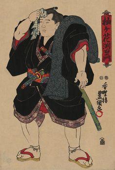 Somagahana Fuchiemon restored - 相撲絵 - Wikipedia