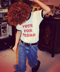 Imagine all of the awkward dancing you'll be allowed to get away with if you show up on Halloween as Napoleon Dynamite. Throw on some snow boots, rugged jeans, a plain white t-shirt, and a pair of thick-rimmed glasses. For extra effect, frizz your hair and keep a stick of chapstick in hand! Source: Instagram user wendy_evans_