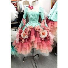 Custom Fabric Flowers for Australian Ballet