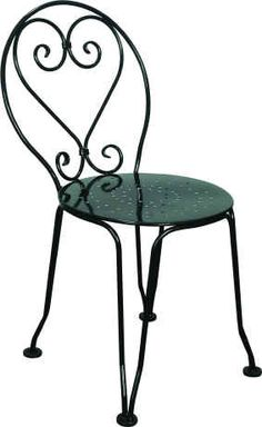 Superbe French Cafe Chairs | Metal Bistro Chairs | Patio Chairs