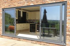 Folding Doors: Patio Folding Doors 4 Panel Price... grey