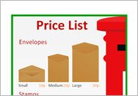 Editable post office price list poster, part of our post office role play series. Community Jobs, Community Helpers, Eyfs Classroom, Classroom Ideas, Teacher Resources, Teaching Ideas, Katie Morag, People Who Help Us, Role Play Areas