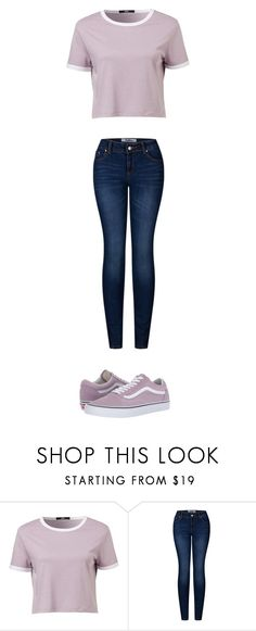 """school"" by ottoca on Polyvore featuring 2LUV and Vans"