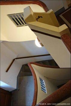 Bieler Hof, staircase