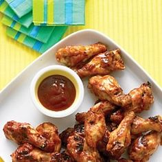 Emeril's Oven-Roasted Chicken Wings Recipe & Video | Martha Stewart