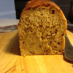 Malted Wheat Flake Bread. After four tries, I finally got a sandwich loaf! Crunchy and delicious crust; fabulous flavor. But still very heavy for a sandwich bread. It made one loaf, and I think it should have made two. Wonder what I'm doing wrong. Maybe the fifth time will be the charm?