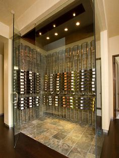 images modern wine cellars | ... modern touches in wine cellars, and it's pretty cool to be able to