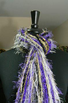 Baltimore Ravens  NFL Scarves All Fringe Scarf  by FlorasFinest, $29.95