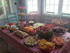 Goodie table July 4 th 2015