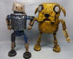 Super Set Limited time Sale assemblage Finn and Jake by Valerobots