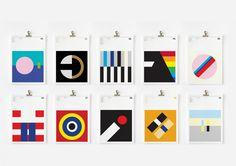 Minimalist Music: Classic album covers broken down into minimalist poster designs | Creative Boom