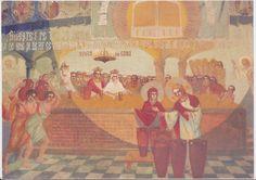 pictura biserica Draganescu - Parintele Arsenie Boca - nunta