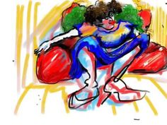 """Creation of the work """"Red Couch"""". Creations, Couch, Videos, Red, Red Sofa, Settee, Sofa, Sofas, Couches"""