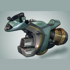 3ds max hover bike