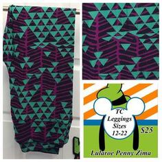 ShopTheRoe | Twisted LuLaSisters - Tall and Curvy Leggings TC Prints