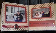 Scrapbook Layout: Man and Baby