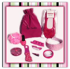 spa party ideas for girls birthday | SPA PARTY FAVOR BAGS