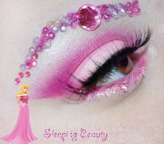 Disney Princess make up - the link has a different look for each princess Crazy Eye Makeup, Eye Makeup Art, Eye Art, Disney Eye Makeup, Disney Inspired Makeup, Make Up Looks, Make Up Designs, Princess Makeup, Couture Mode