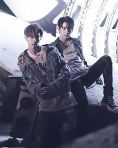 Mark & Jinyoung #MarkJin
