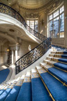 Hotel de Ville de Versailles, near Versailles, France, by Claude  Rozier-Chabert.