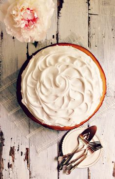 S'more Layer Cake with Salted Milk Chocolate Ganache & Seven Minute Frosting