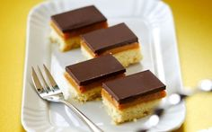 Lyle's® Caramel Chocolate Shortcake Recipe