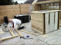 DIY : HOW TO BUILD A HOT TUB - YouTube