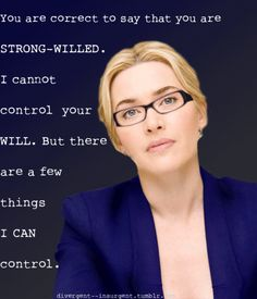 Kate Winslet cast as Jeanine Matthews in The Divergent Movie