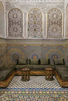 Moroccan interior architecture • #hazelvalley