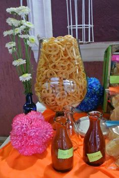 Quinceanera Party Planning – 5 Secrets For Having The Best Mexican Birthday Party Mexican Birthday Parties, Mexican Fiesta Party, Fiesta Theme Party, Festa Party, Fiesta Party Centerpieces, Mexican Dessert Table, Mexican Candy Table, Baptism Dessert Table, Quince Centerpieces