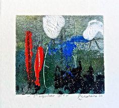 Magischer Ort, 2015, tecnica mista, 10 x 9.5 cm