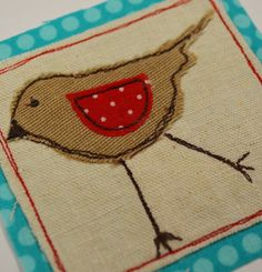 free motion applique cards - Google Search