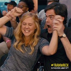 Go team! Do that thing with the ball! Make the points! Sports! #Trainwreck: in theaters July 17, 2015.