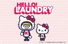 #japanese_character #cartoon #T_shirt #panson_works #laundry #パンソンワークス #ランドリー #サンリオ #キティ
