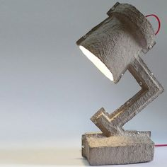 Reclaimed Egg Cartons Get a Second Life as Lamps