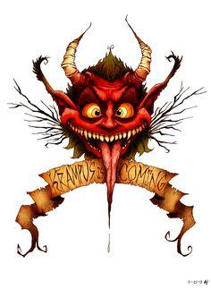 Krampus is Coming by croonstreet.deviantart.com on @deviantART