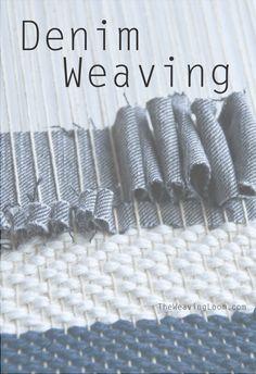 Weaving with Denim || techniques
