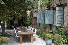Converted 15th century stone house in the South of France - Mouans Sartoux.  The perfect outdoor dinner party.
