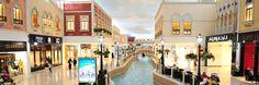 The Villaggio Mall  - where Venice meets the Qatari love of shopping ;-)