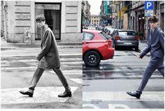Milano: Andrea Silenzi Dons Canali Fall 2014 for Harpers Bazaar Thailand