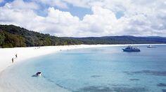 Whitehaven Beach #whitsundays #queensland #Australia