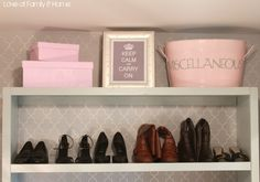 Love Of Family & Home: Master Closet Makeover Reveal....