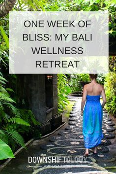 Thinking of doing a health retreat? Then make sure to read about my experience! One Week of Bliss: My Bali Wellness Retreat. #retreat
