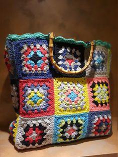 Lana, Rainbow Crochet, Handmade Purses, Boho Chic, Diaper Bag, Knitting, Etsy, Crochet Pouch, Wallet