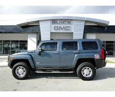2006 Hummer H3 is a Blue, Grey 2006 HUMMER H3 Car for Sale in Austin TX