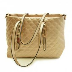 $16.28 Elegant Women's Shoulder Bag With Checked and Metal Design